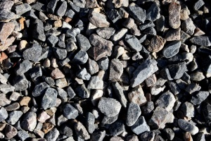 gray rocks, gravel, texture