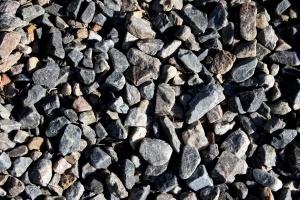 gray rocks, gravel, texture