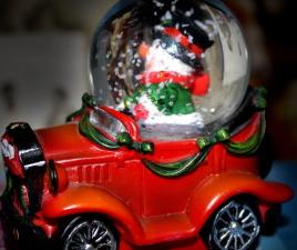 gift, toy, plastic car, holiday, globe
