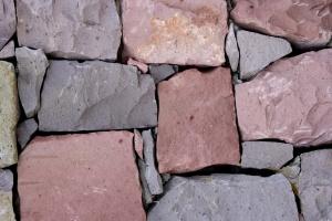 stora stenar, vägg, textur