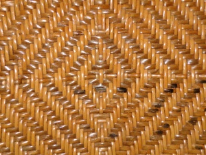 woven, straw, diamond pattern, texture