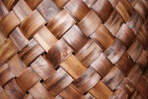 wicker basket, texture