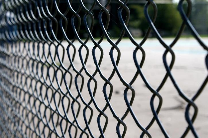 ограда метална тел