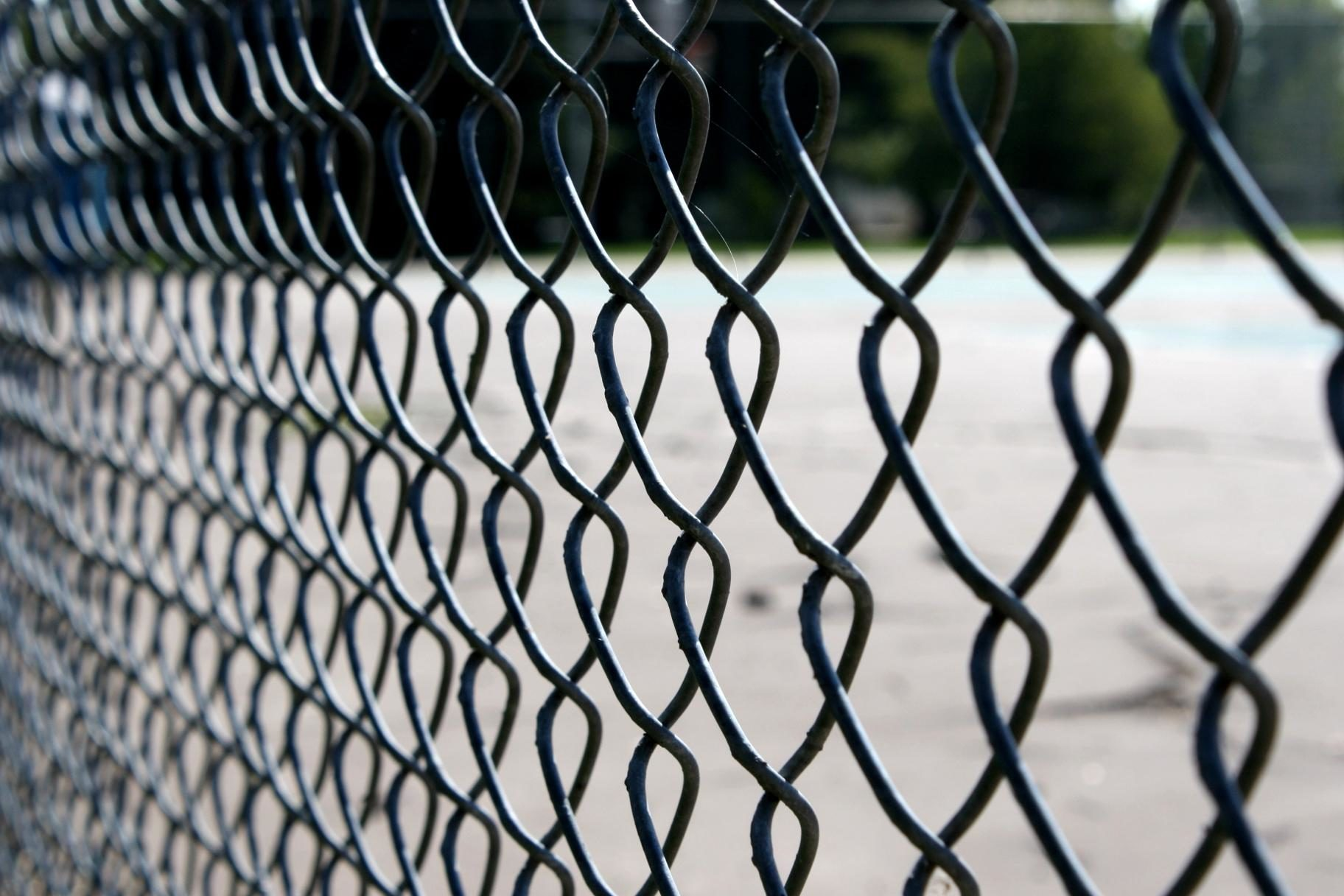 Free picture: metal wire fence