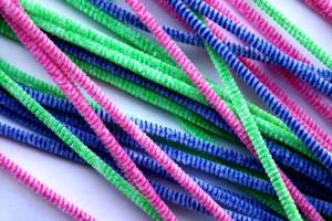 彩色塑料管材