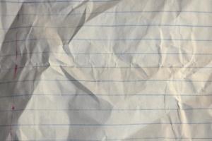 papel, notas, papel, textura