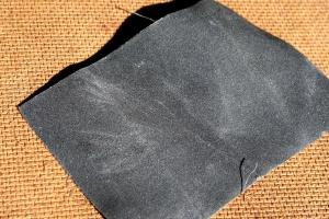 gray, ultra fine sandpaper