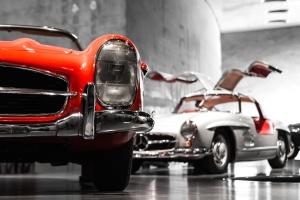 voiture classique, Mercedes Benz, voiture berline, luxe