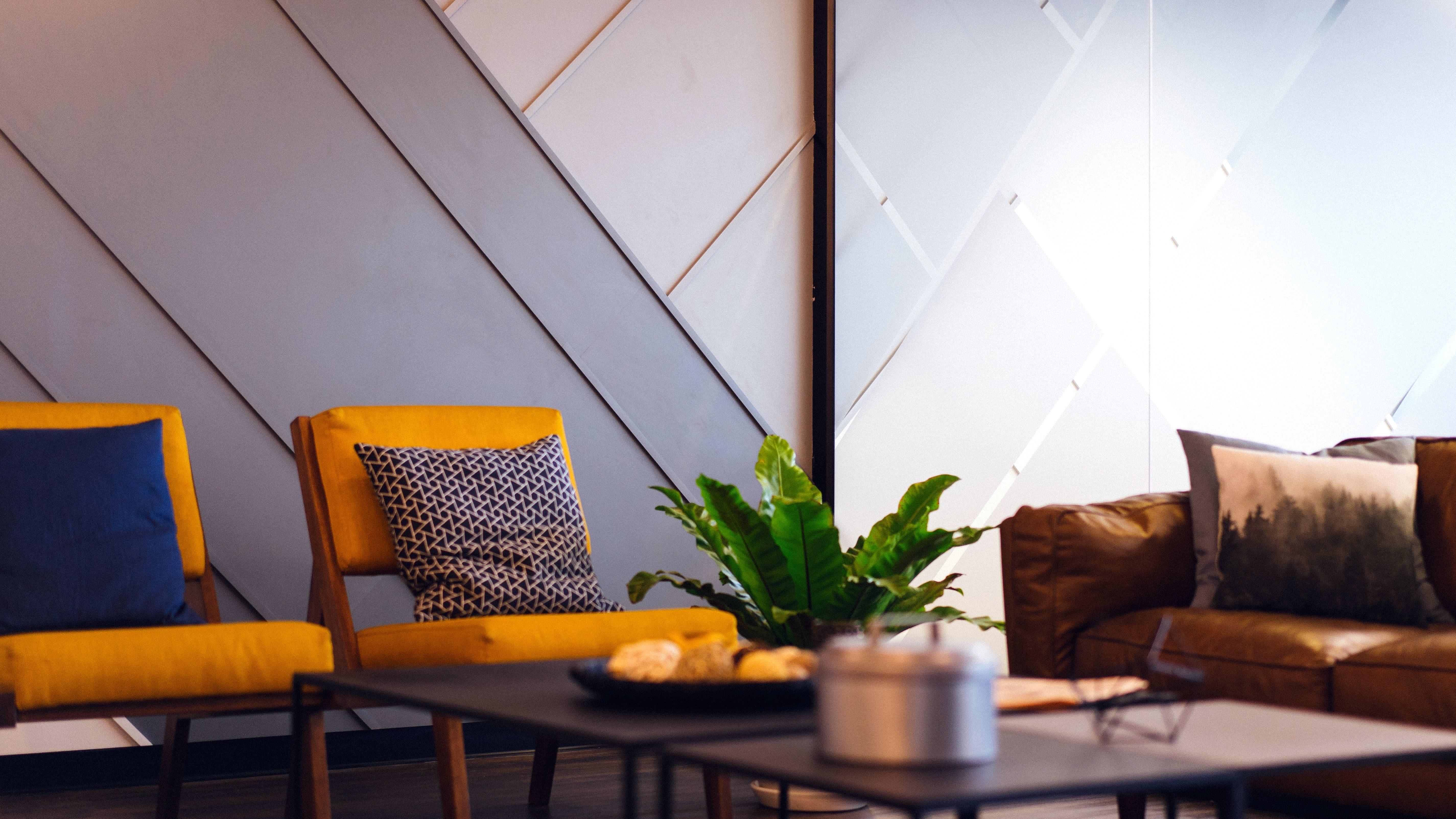 Schön Möbel, Bank, Stühle, Komfort, Moderne, Wohnzimmer, Innen