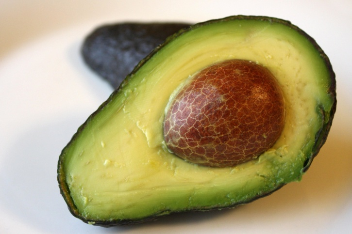 avocado, fruit, half slicee, kernel, seed