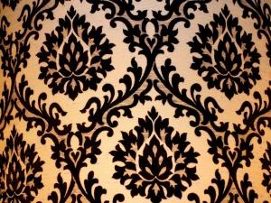 Damask, Tienidlo, textúra