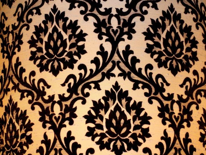 damask, lamp shade, texture