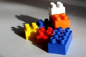 LEGO műanyag blokkok, műanyag játékok
