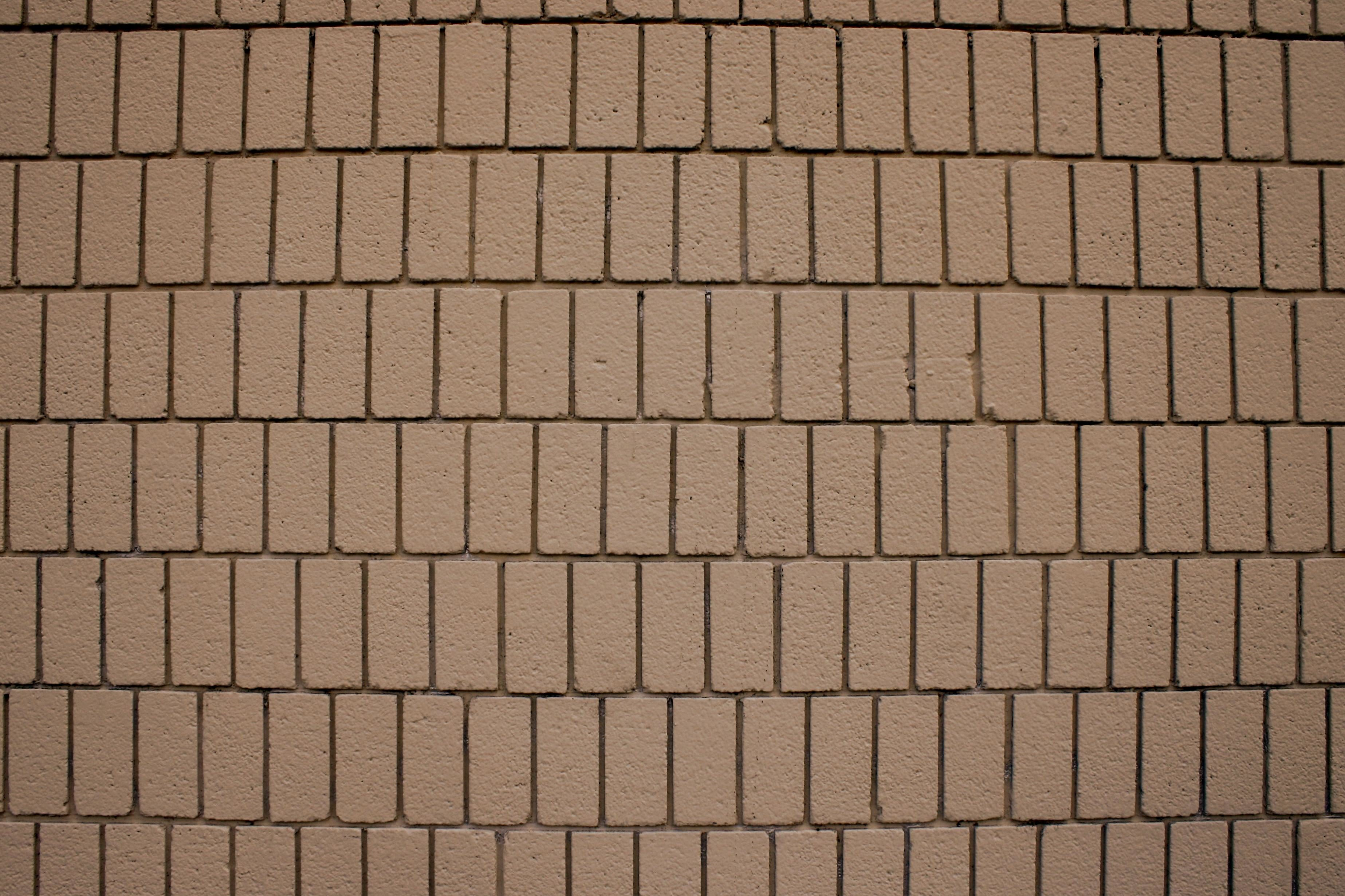 Free Picture Light Brown Bricks Brick Wall Texture