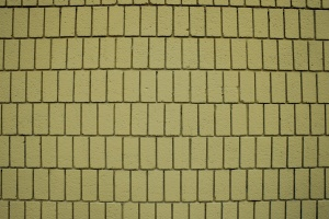 gelbe Ziegel, Wand, Textur, vertikale Ziegel
