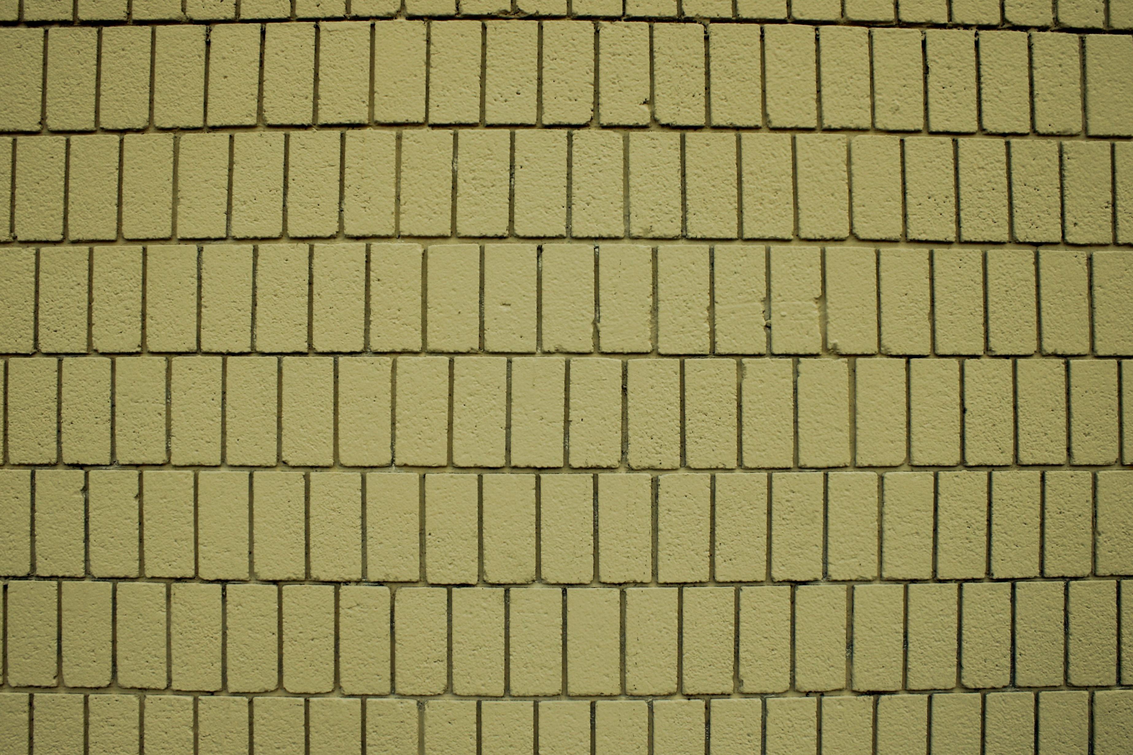 Imagen gratis ladrillos de color amarillo pared textura - Ladrillos de colores ...