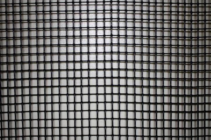plastic material, square design, close, texture