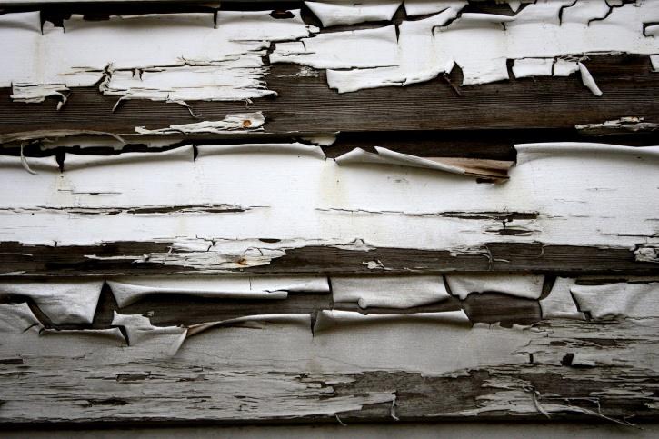 peeling paint, wooden planks, texture