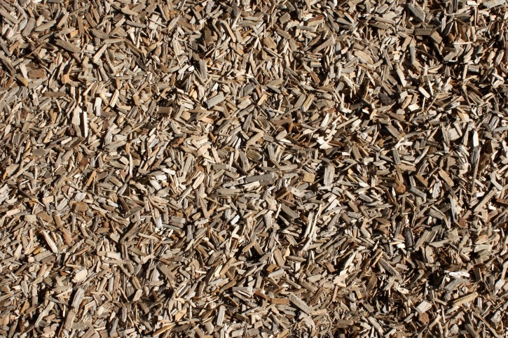 wood chips, texture