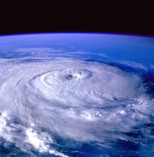 pianeta Terra, l'universo, il cielo, tempesta