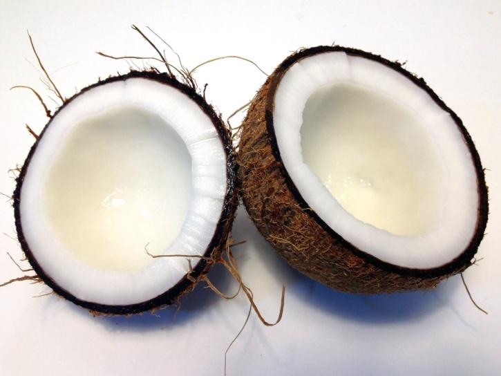 coconut, food, fruit
