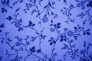 blue, floral design, print, fabric, texture