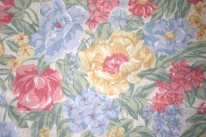 floral fabric design, texture