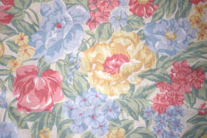 floral fabric design, texture
