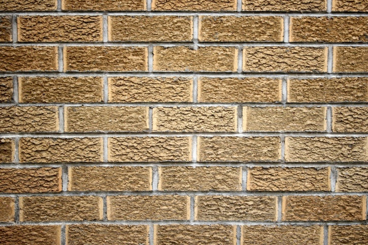 yellow color, brick wall, cement, texture, pattern