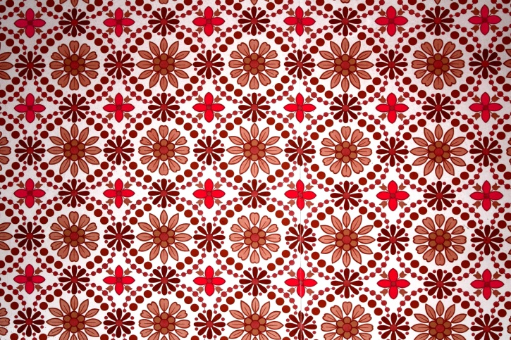 Free picture floral texture brown red floral design wallpaper - Papier peint patchwork ...