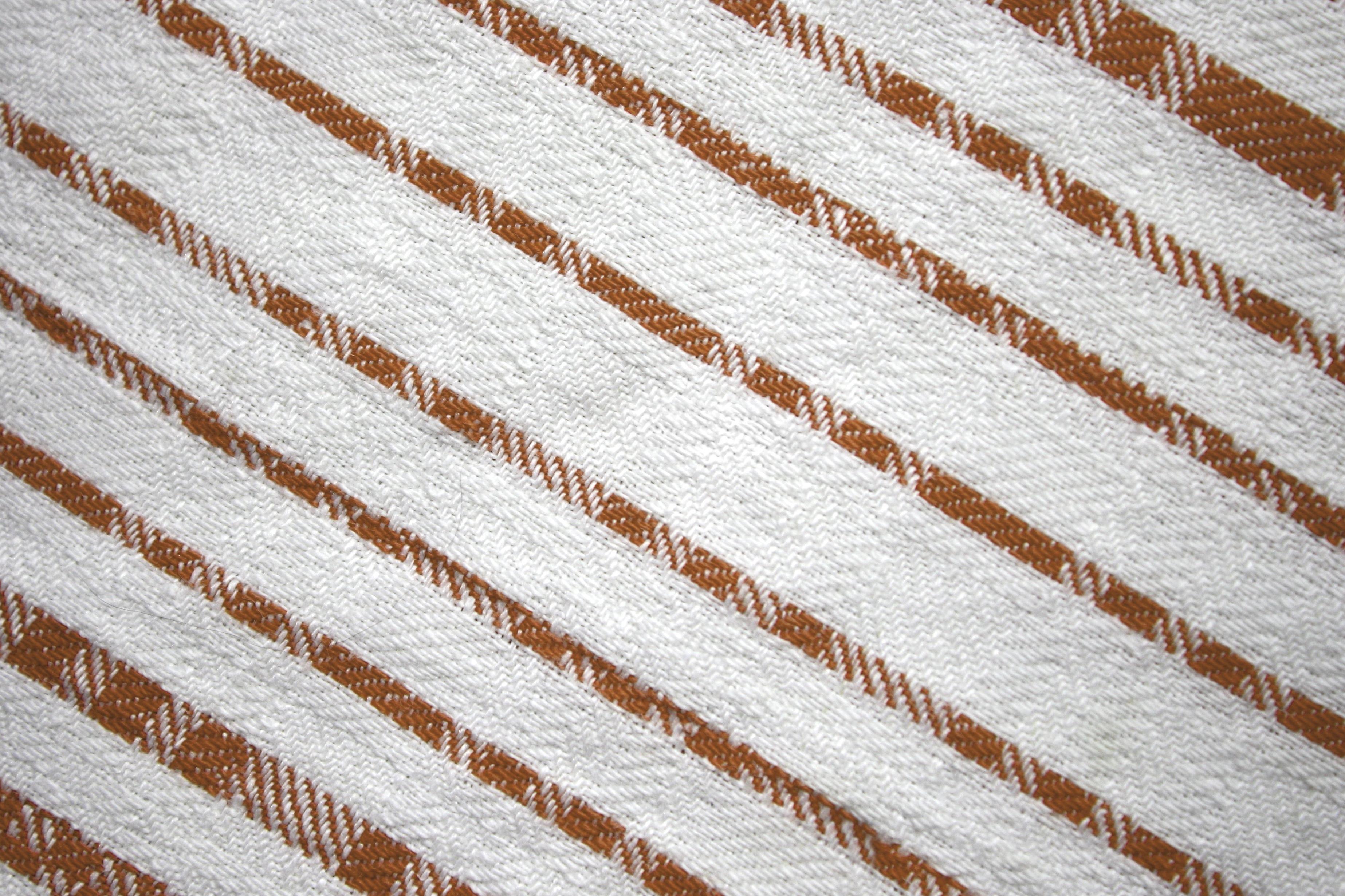 Free picture: dishcloth, brown, white, diagonal stripes, fabric ...