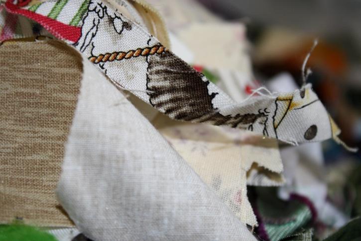 textil, fabric, scraps