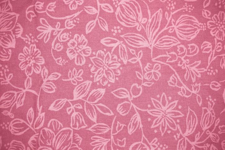 pink color, fabric, textil, floral pattern, texture, design