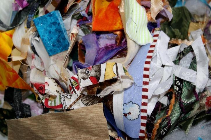 fabric, trimmings, cloth, scrap, pieces, textil