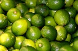 green lemon, limes, fruit, citrus, agrum