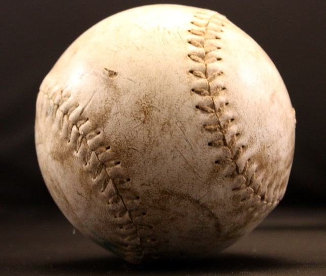 softball, baseball ball, sport, old