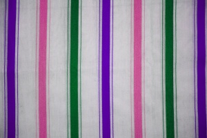 disegno a strisce, tessuto, tessile, tessitura, verde, rosa, viola, bianco
