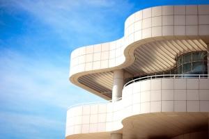Architektura, stavební, obchodní, moderní, futuristický design, křivka