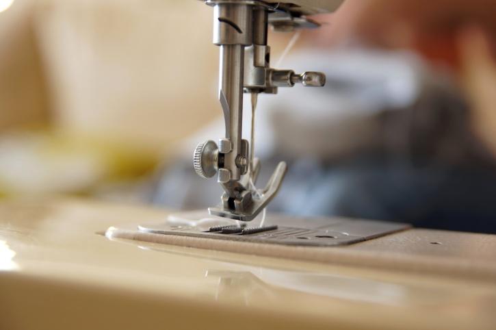 sewing machine, sewing needle
