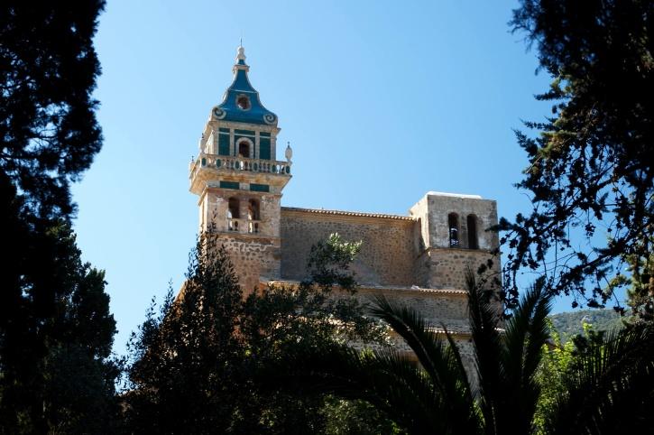 castle, architecture, house, belfry, turquoise color