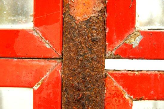rust, metal, red, metal construction, texture