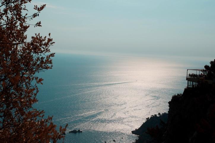 sea, summer time, water, blue sky, horizon