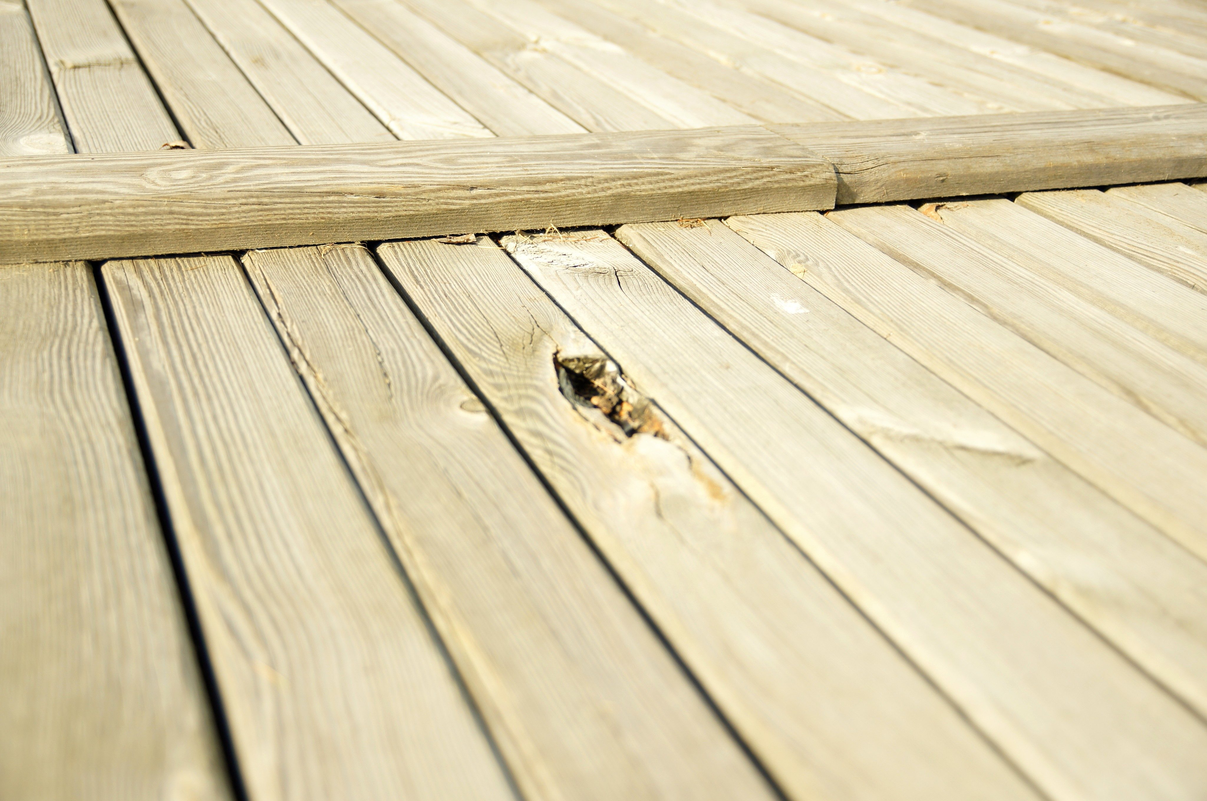 Free Picture Large Wooden Platform Deck Wooden Planks