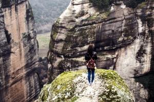 person, recreation, rock, steep, travel, outdoor