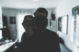 man, camera, person, technology, indoor