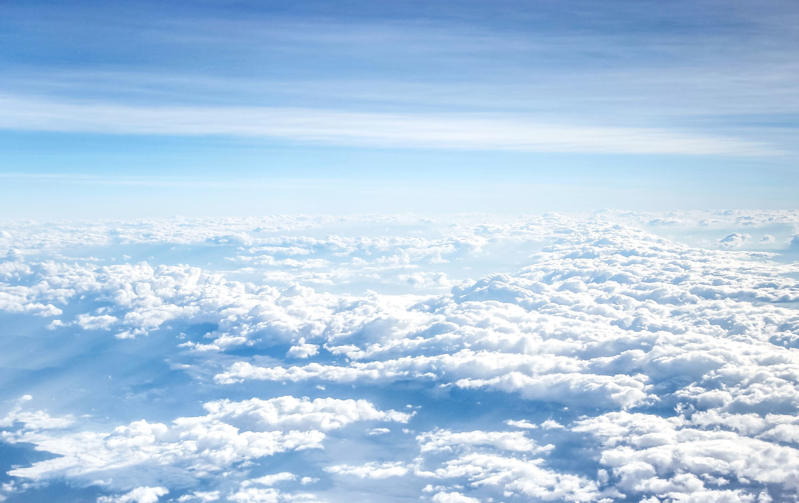 free picture clouds blue sky air atmosphere weather above clouds
