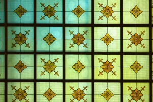 stained glass, art, geometric shape, glass, graphic, green, abstract art