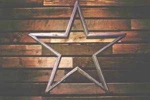 étoiles, architecture, art, design, bois