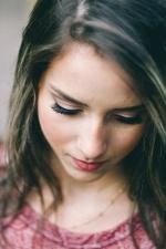 teen, young woman, pretty girl, face, portrait, girl