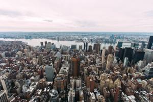 paisaje urbano, céntrico, ciudad, arquitectura, edificios, ciudad de negocios